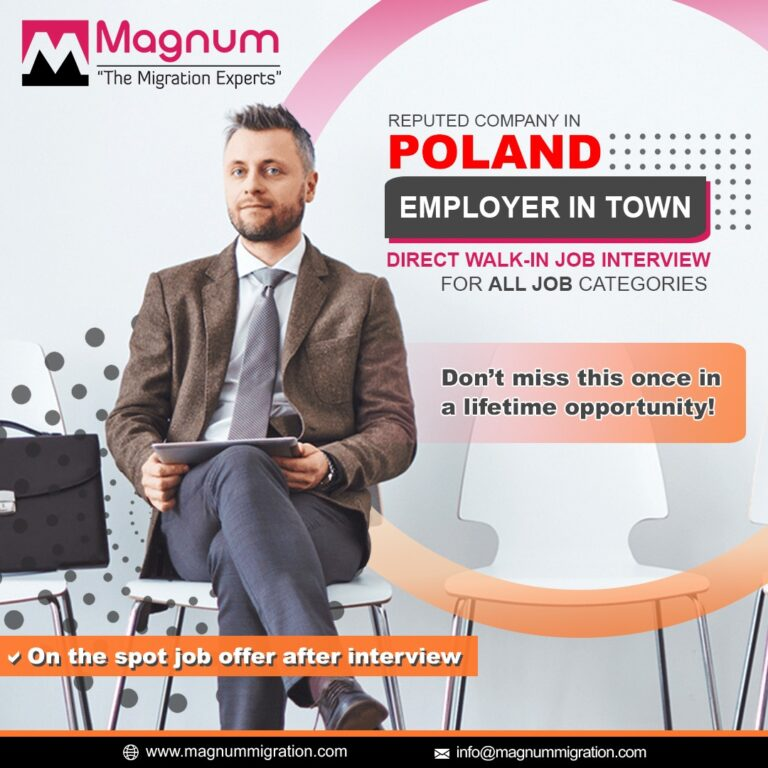 Poland Walk in Interview Dubai Abu Dhabi UAE