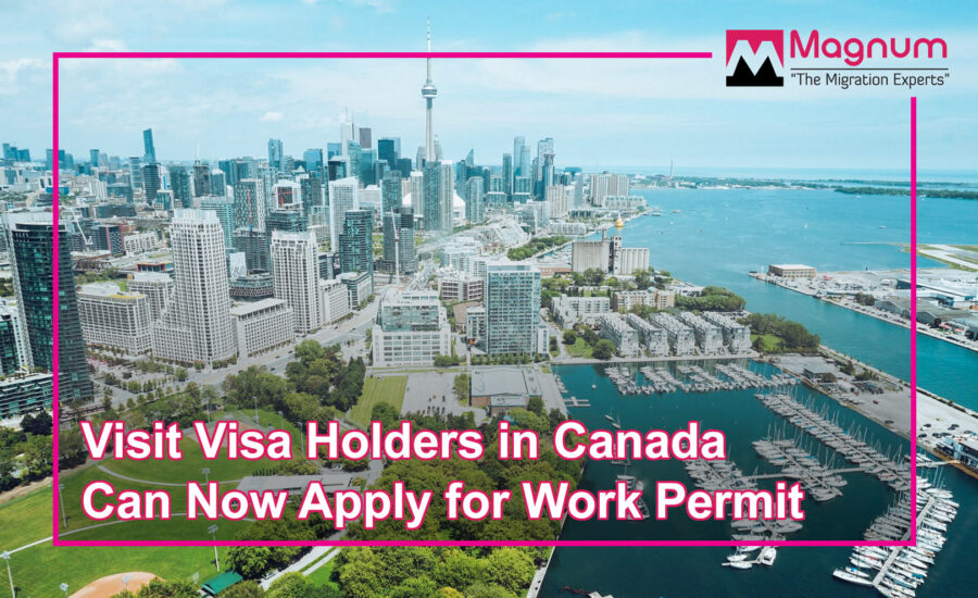 Visit Visa Holders Can Now Apply for Work Permit
