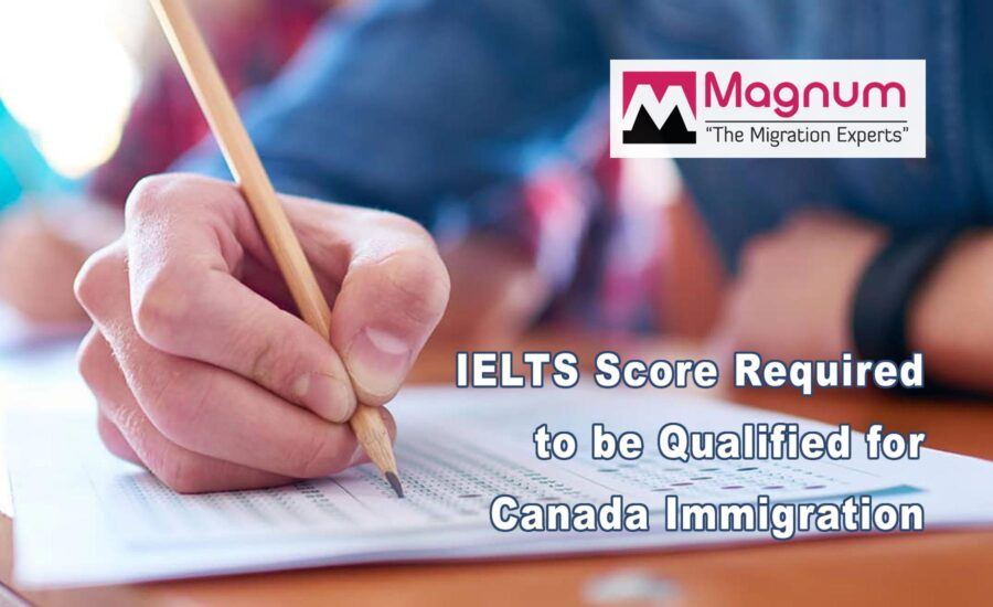 IELTS Score required in Canadian Immigration